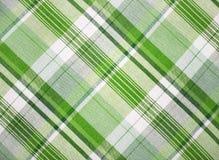 Tessuto verde Fotografia Stock