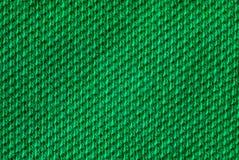 Tessuto verde Immagini Stock