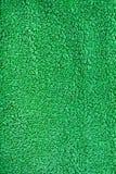 Tessuto verde del panno di Terry Immagini Stock Libere da Diritti