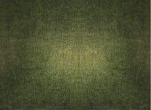 Tessuto verde Grungy Fotografia Stock
