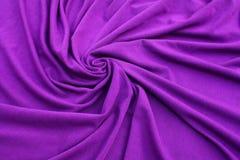 Tessuto viola della Jersey Immagini Stock