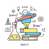 Test it concept Royalty Free Stock Photography