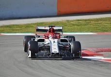 Kimi Räikkönen-Sauber stock image
