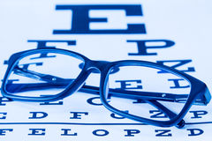 Test eyesight accuracy Stock Photos