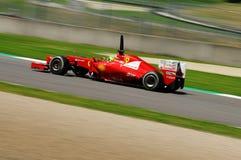 Test F1 Mugello Anno 2012 Felipe Massa Stock Afbeelding