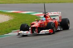 Test F1 Mugello Anno 2012 Fernando Alonso Royalty-vrije Stock Foto