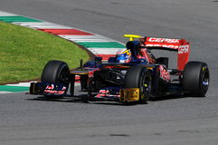 Test F1 Mugello 2012 Jean-Éric Vergne Royalty Free Stock Photography