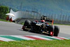 Test F1 Mugello 2012 Romain Grosjean Royalty-vrije Stock Foto