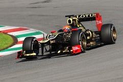 Test F1 Mugello 2012 Romain Grosjean Stock Foto