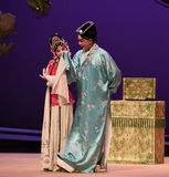 """Test his mind-Kunqu Opera """"the West Chamber"""" Royalty Free Stock Photography"""