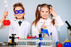Test Laboratory Stock Image