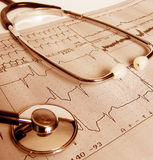 Test médical Image libre de droits