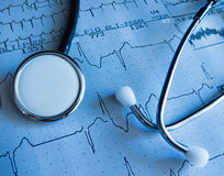Test médical Image stock