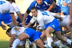 Test match Italy do rugby contra Samoa; Sola de Josh foto de stock royalty free