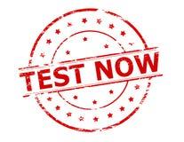 Test now Stock Photos