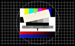 Test pattern, Royalty Free Stock Photography