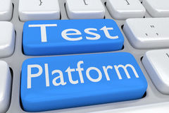 Test Platform concept Royalty Free Stock Photo