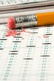 Test Quiz Stock Image