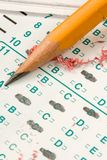 Test Quiz Stock Photography