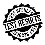 Test Results rubber stamp Royalty Free Stock Photos