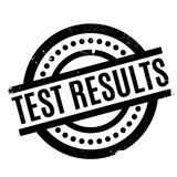 Test Results rubber stamp Stock Images