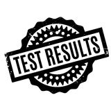 Test Results rubber stamp Royalty Free Stock Photography