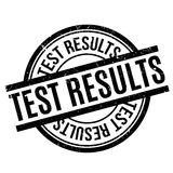 Test Results rubber stamp Royalty Free Stock Photo