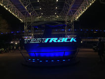 Test Track, Epcot, Orlando, Florida Stock Photos