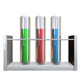 Test tube Royalty Free Stock Photo
