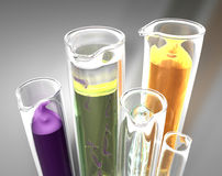 Test tube Royalty Free Stock Images