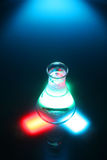 Test tube. Colourful test tube scene Stock Images