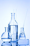 Test Tube. Chemical Test Tube . Chemical experiment with Laboratory glass Stock Photos