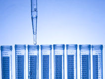 Test Tube. Chemical Test Tube . Chemical experiment with Laboratory glass Royalty Free Stock Photography