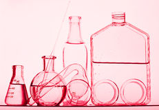 Test Tube. Chemical Test Tube . Chemical experiment with Laboratory glass Stock Photo