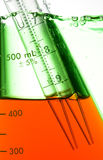Test Tube. Chemical Test Tube . Chemical experiment with Laboratory glass Stock Photography