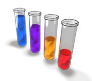 Test tube chemical analysis laboratory Royalty Free Stock Photography
