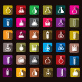 Test tube icon Royalty Free Stock Image