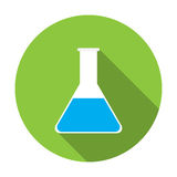 Test tube icon Royalty Free Stock Photo