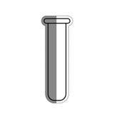 Test tube icon Stock Photography