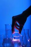 Test tube Scene royalty free stock images