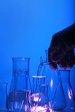 Test tube Scene Stock Photos