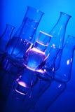 Test tube Scene Stock Images