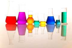 Test tube Scene Royalty Free Stock Photography