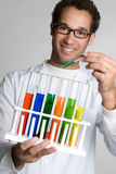 Test Tube Scientist Stock Images