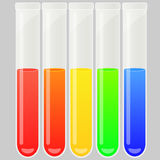 Test tube set Stock Photos