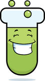Test Tube Smiling Stock Image