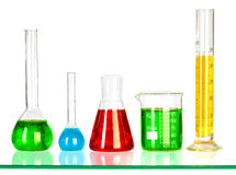 Test Tubes Stock Image