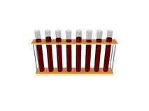 Test-tubes Royalty Free Stock Photos