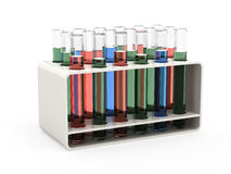 Test tubes Royalty Free Stock Photos