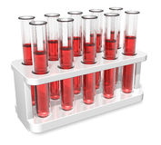 Test tubes Stock Images